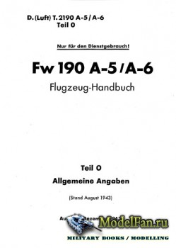 Pilot's Manual for Focke-Wulf Fw 190