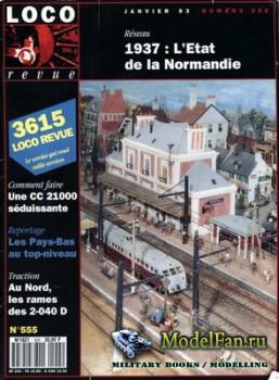 Loco-Revue №555 (January 1993)