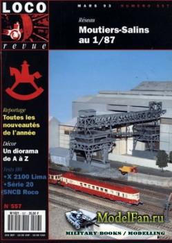 Loco-Revue №557 (March 1993)