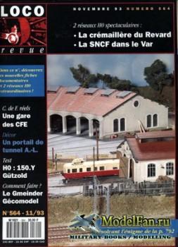 Loco-Revue №564 (November 1993)