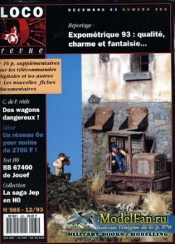 Loco-Revue №565 (December 1993)
