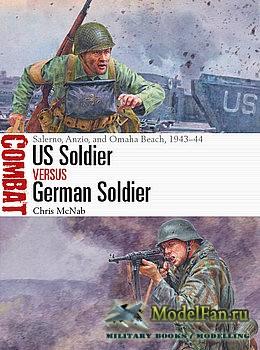 Osprey - Combat 48 -  US Soldier vs German Soldier
