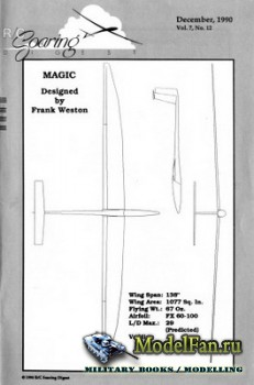 Radio Controlled Soaring Digest Vol.7 No.12 (December 1990)