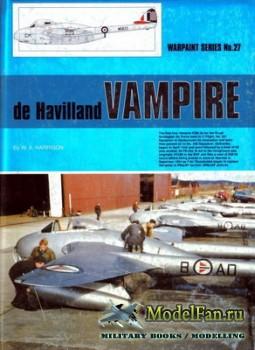Warpaint №27 - De Havilland Vampire