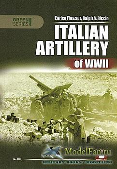 Mushroom Green Series 4119 - Italian Artillery of WWII