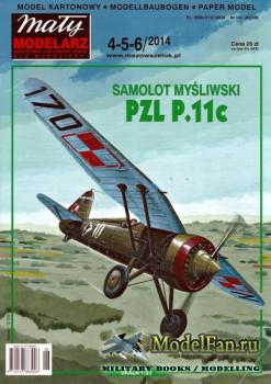 Maly Modelarz №4-5-6 (2014) - PZL P.11c