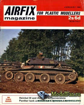 Airfix Magazine (January 1969)