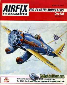Airfix Magazine (March 1970)