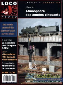 Loco-Revue №566 (January 1994)
