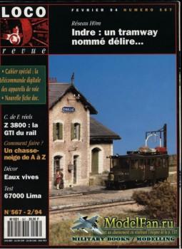 Loco-Revue №567 (February 1994)