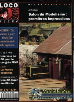 Loco-Revue №570 (May 1994)