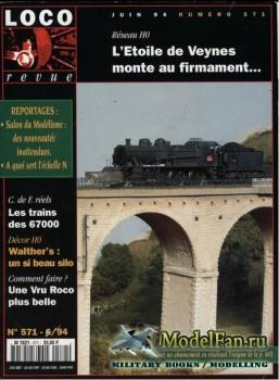 Loco-Revue №571 (June 1994)