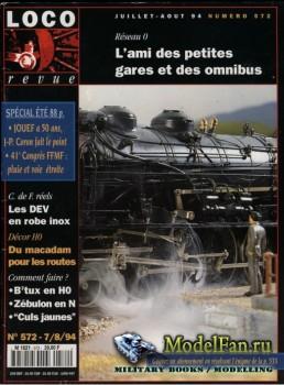 Loco-Revue №572 (July-August 1994)