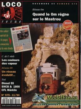 Loco-Revue №575 (November 1994)