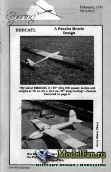 Radio Controlled Soaring Digest Vol.8 No.2 (February 1991)