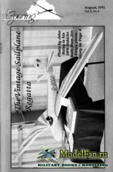 Radio Controlled Soaring Digest Vol.8 No.8 (August 1991)