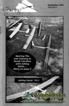 Radio Controlled Soaring Digest Vol.8 No.9 (September 1991)