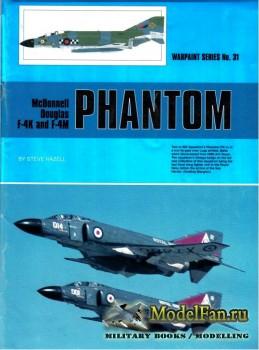 Warpaint №31 - McDonnell Douglas F-4K and F-4M Phantom