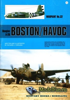 Warpaint №32 - Douglas A-20 Boston/Havoc