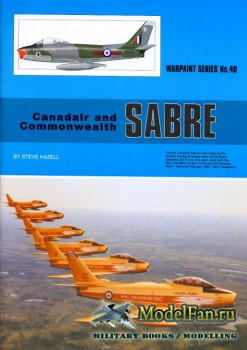 Warpaint №40 - Canadair and Commonwealth Sabre