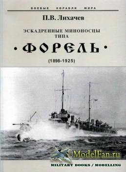 Эскадренные миноносцы типа «Форель» (1898-1925) (П.В. Лихачев)