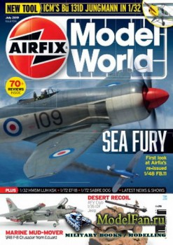 Airfix Model World - Issue 104 (July 2019)
