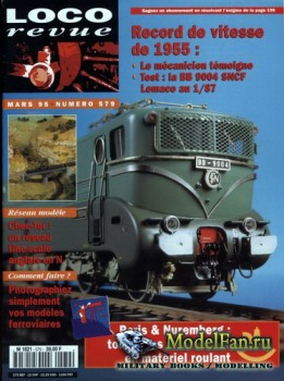 Loco-Revue №579 (March 1995)