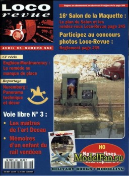 Loco-Revue №580 (April 1995)