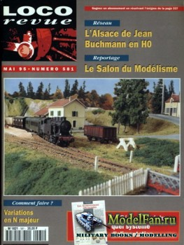 Loco-Revue №581 (May 1995)