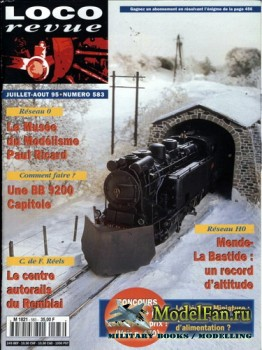 Loco-Revue №583 (July-August 1995)