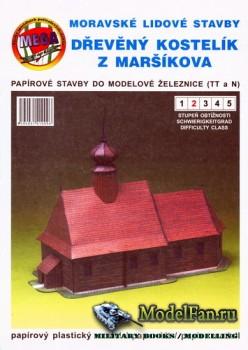 Mega Graphic - Dreveny kostelik z Marsikova