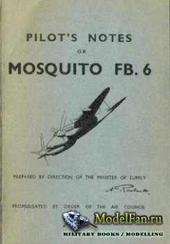 Pilot's Notes for Mosquito FB.6