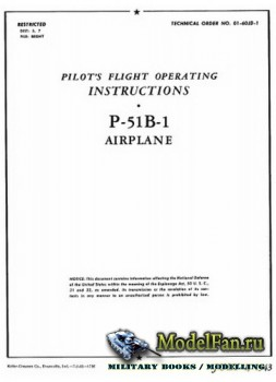 Pilot's Flight Operating Instructions P-51B-1 Airplane