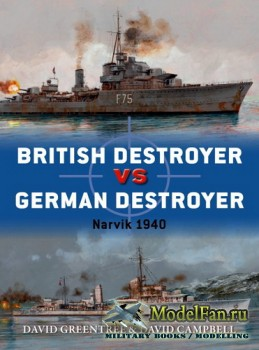 Osprey - Duel 88 - British Destroyer vs German Destroyer: Narvik 1940