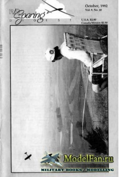 Radio Controlled Soaring Digest Vol.9 No.10 (October 1992)