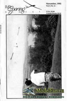 Radio Controlled Soaring Digest Vol.9 No.11 (November 1992)