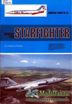 Warpaint №43 - Lockheed F-104 Starfighter