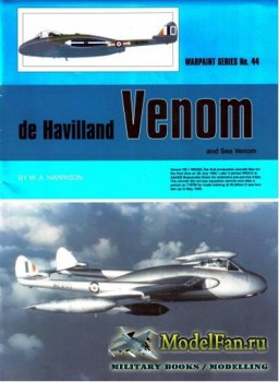Warpaint №44 - De Havilland Venom & Sea Venom
