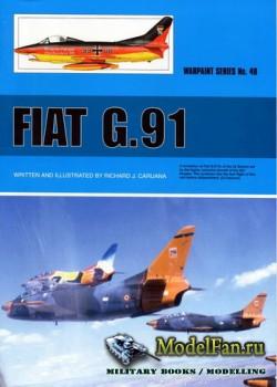 Warpaint №49 - Fiat G.91
