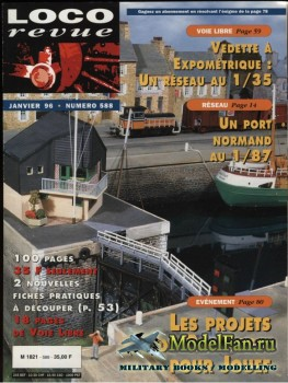 Loco-Revue №588 (January 1996)