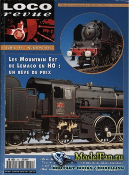 Loco-Revue №591 (April 1996)