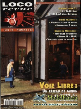 Loco-Revue №593 (June 1996)