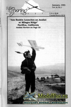 Radio Controlled Soaring Digest Vol.10 No.1 (January 1993)