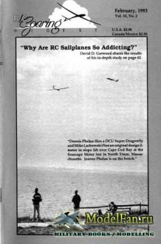 Radio Controlled Soaring Digest Vol.10 No.2 (February 1993)