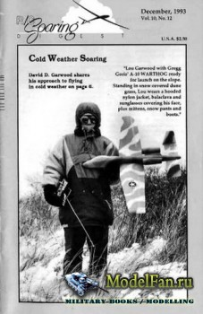 Radio Controlled Soaring Digest Vol.10 No.12 (December 1993)