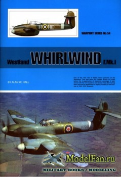 Warpaint №54 - Westland Whirlwind F.Mk.1