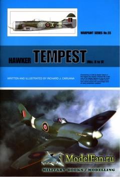 Warpaint №55 - Hawker Tempest Mks. II to VI