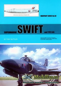 Warpaint №58 - Supermarine Swift and Type 535