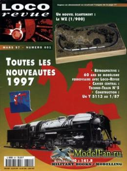 Loco-Revue №601 (March 1997)