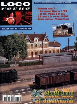Loco-Revue №605 (July-August 1997)